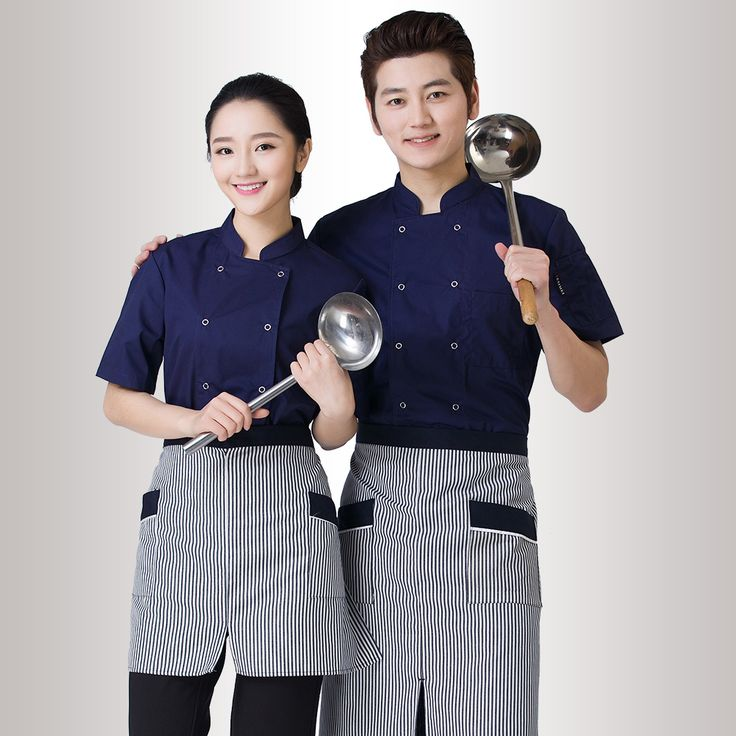 2016 new arrivals 6colors M-XXXL summer short sleeve chef coat for women and men high qualtiy hotel work uniforms cook clothing