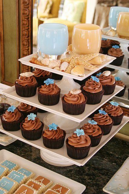 Beautiful Cupcakes Beach Wedding CupcakesWedding Cupcake
