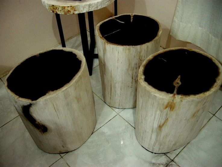 https://flic.kr/s/aHskXD12zM | Stone End Table | Stone End Table made from genuine petrified wood.