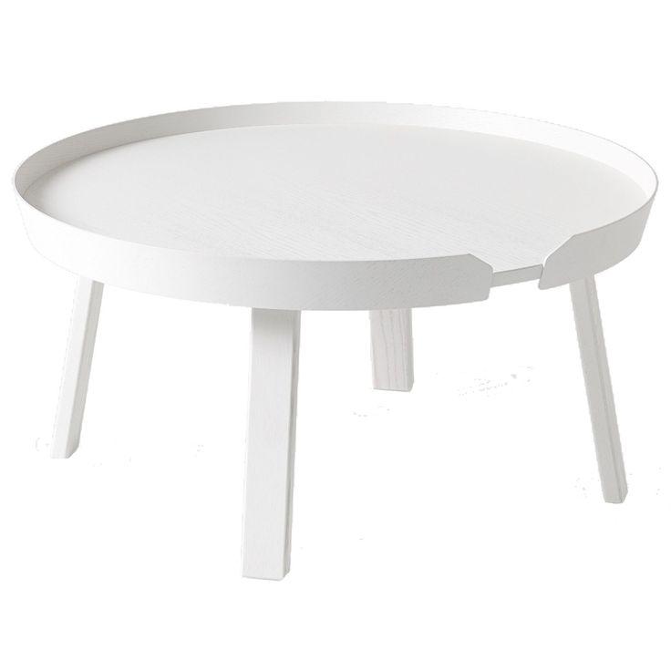 Around bord från Muuto, formgiven av Thomas Bentzen. Ett modernt och tåligt soffbord som s...