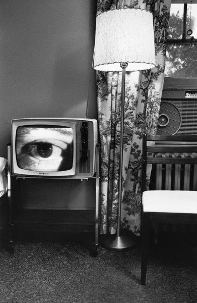 Washington, DC, 1962, gelatin-silver print by Lee Friedlander - The Little Screens series