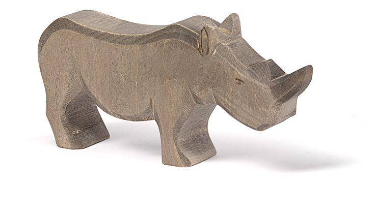 Unser Nashorn in gross - ein kräftiger Auftritt