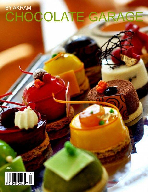 variations of desserts.