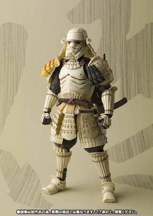 Ces figurines Star Wars samouraï sont époustouflantes de détails !