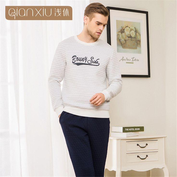 http://fashiongarments.biz/products/qianxiu-couples-striped-letters-printed-mens-pajamas-sleepwear-sets-casual-long-sleeve-clip-cotton-family-mens-nightclothes/,    ,   , fashion garments store with free shipping worldwide,   US $112.00, US $57.12  #weddingdresses #BridesmaidDresses # MotheroftheBrideDresses # Partydress
