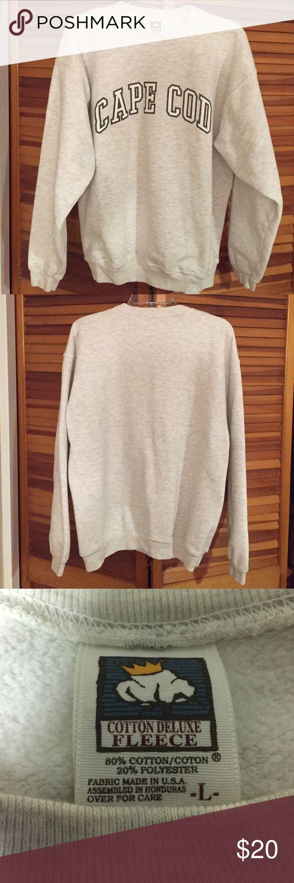 Women's (unisex) Cape Cod pullover sweatshirt.  women's (unisex) Cape Cod pullover Sweatshirt 80% cotton, 20% polyester. Tops Sweatshirts & Hoodies
