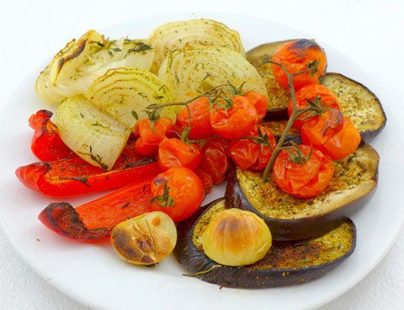 Grilovaná zelenina ❤ Chudnutie ako