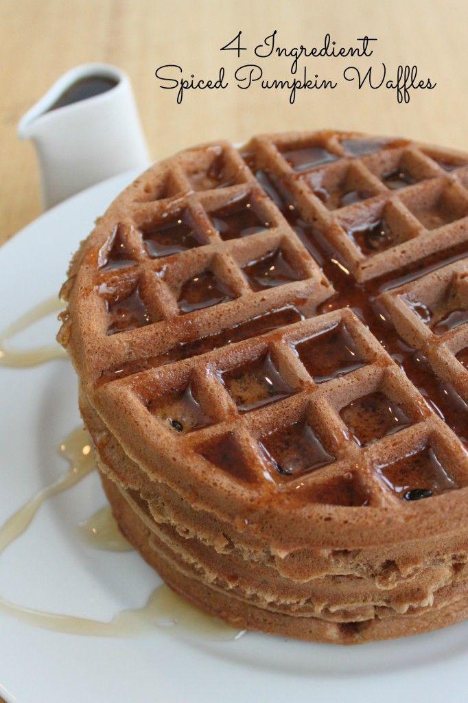 Spiced Pumpkin Waffles | Breakfast | Pinterest | Pumpkin Waffles ...