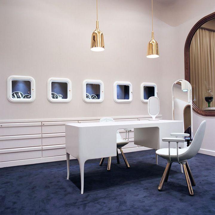 Octium jewelry store design by Jaime Hayon, Kuwait store design