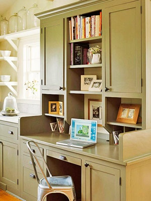 Kitchen Workstation Ideas Whether You Want To Put The Home Office In Or Just Set Up A Small Desk Area Find Inspiration From These Hardworking