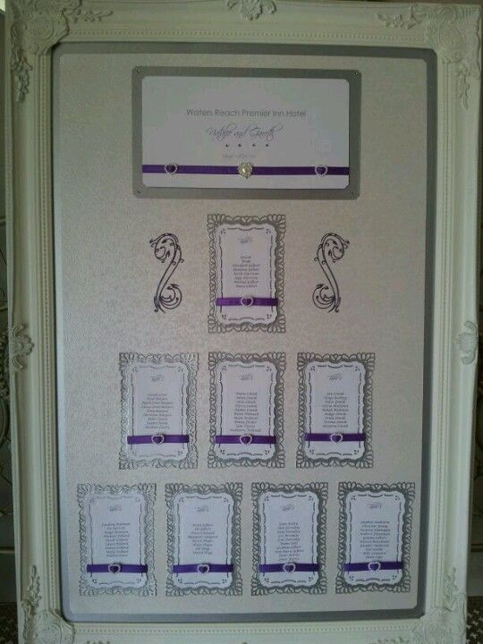 Wedding table plan www.facebook.com/thatspecialdaystationery £60 to hire, £90 to buy
