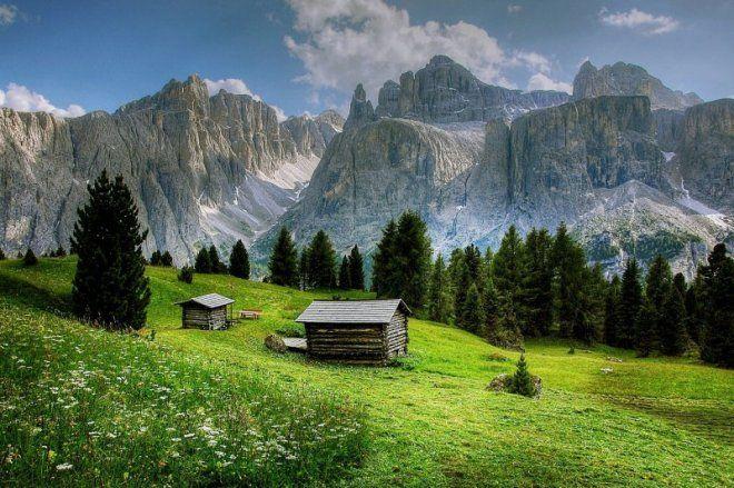 Fall Mountain Lake Wallpaper Val De Mesdi South Tyrol Italy Wanderlust