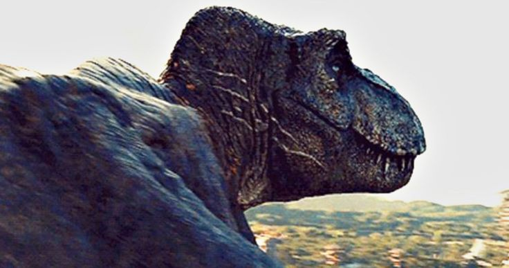 Leaked Jurassic World 2 Photos Reveal Animatronic T-Rex -- Rexy is back and being held in captivity in newly discovered images that have leaked from the set of Jurassic World: Fallen Kingdom. -- http://movieweb.com/jurassic-world-fallen-kingdom-t-rex-leaked-photos/