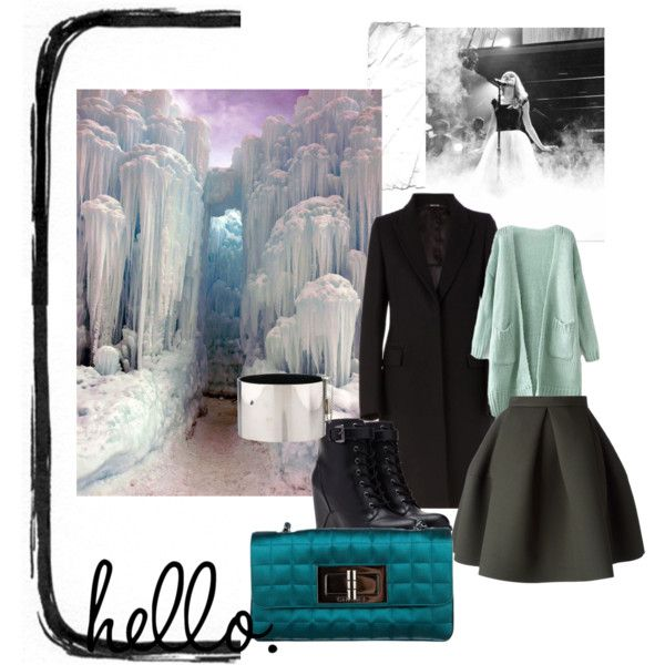 """Black cold"" by gelykou on Polyvore"
