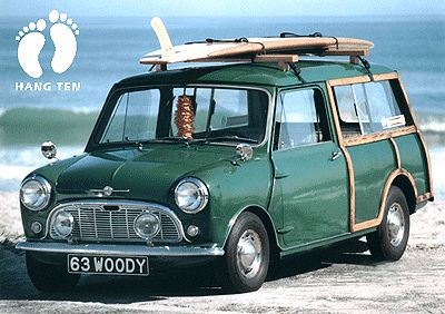 '63 Mini Cooper Countryman Woody still better than the new ones!  These had soul