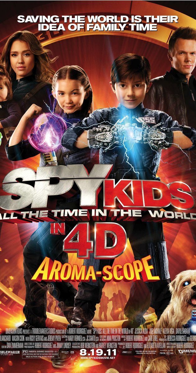 Spy Kids 4: All the Time in the World (2011) on IMDb: Movies, TV, Celebs, and more...