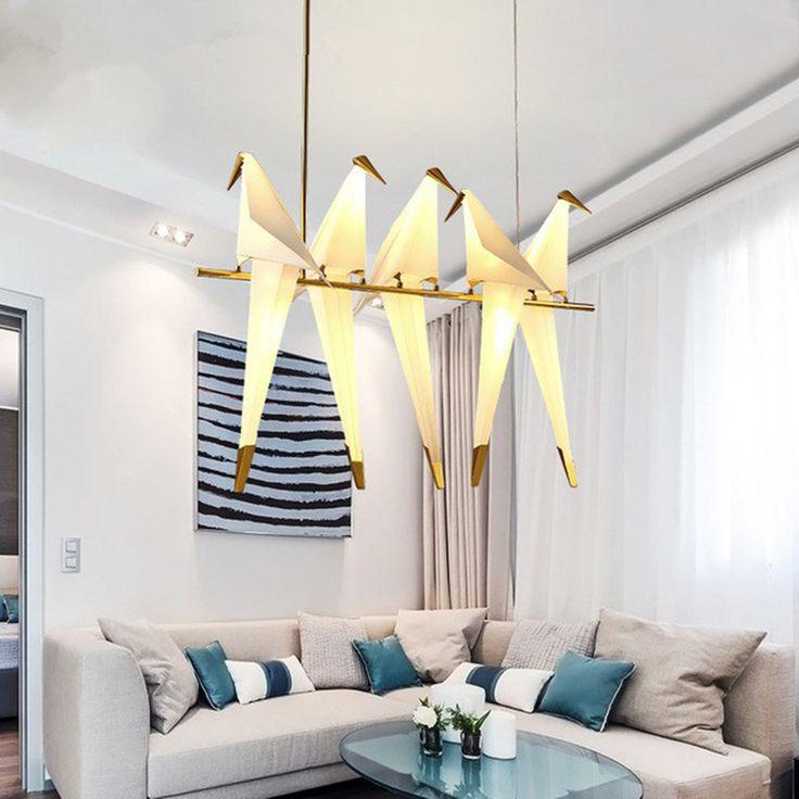 Find More Chandeliers Information About Modern LED Chandelier For Kitchen Bird Pendant Lamp Dinning Room Hanging