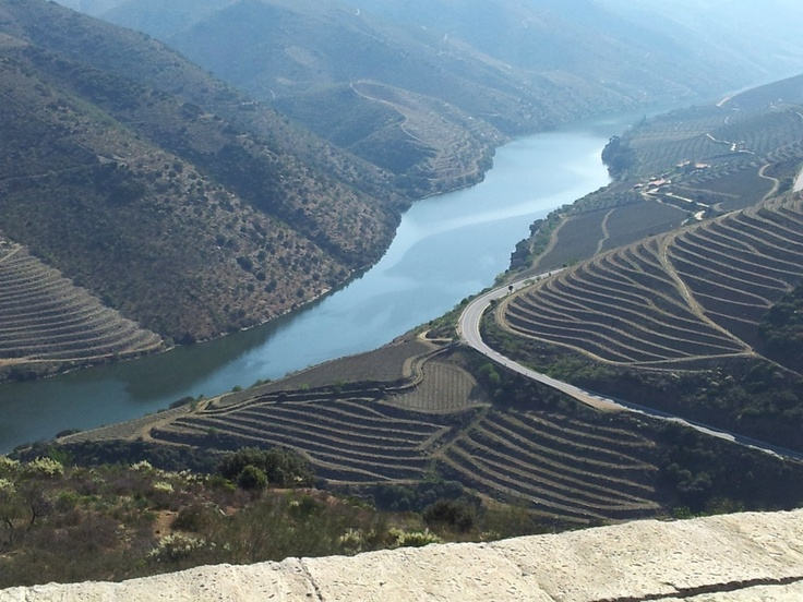 Côa River View from the Côa Museum  #Portugal