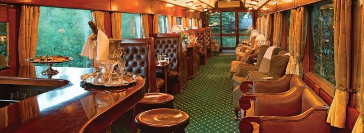 Rovos Rails - old fashioned luxury train in South Africa
