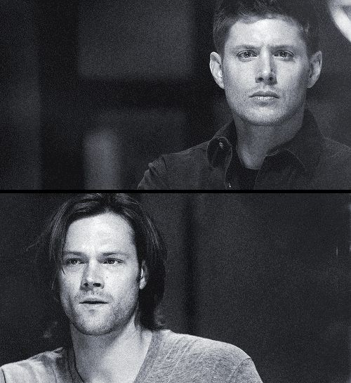 Supernatural gif (images from 8x20 Pac-Man Fever) - We know a little about a lot of things.  Just enough to make us dangerous.