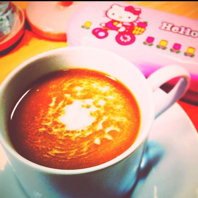 Caffe break time ☕