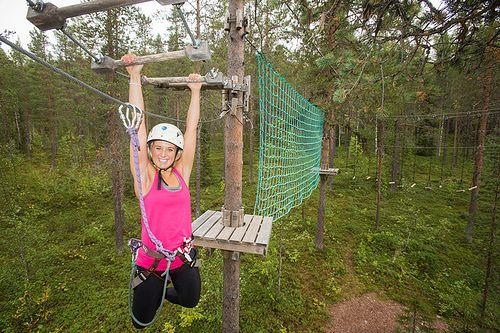 Adventure Park Levi - track 5 #Levi #Lapland #Finland