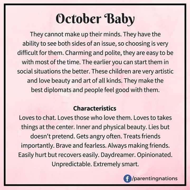 October 23rd October Baby In This Moment Mindfulness