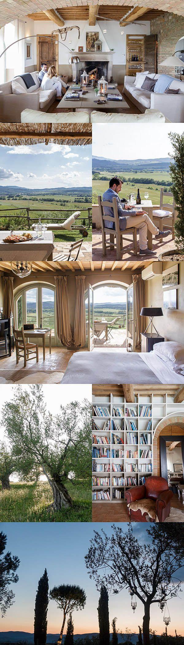 Hotel Photography at Luxury Wine Estate, Conti Di San Bonifacio in The Maremma