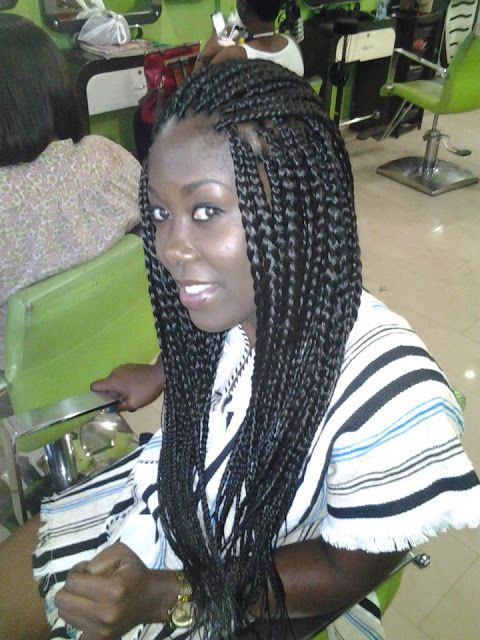 51 Best Ghana Braids Images On Pinterest Natural Hair