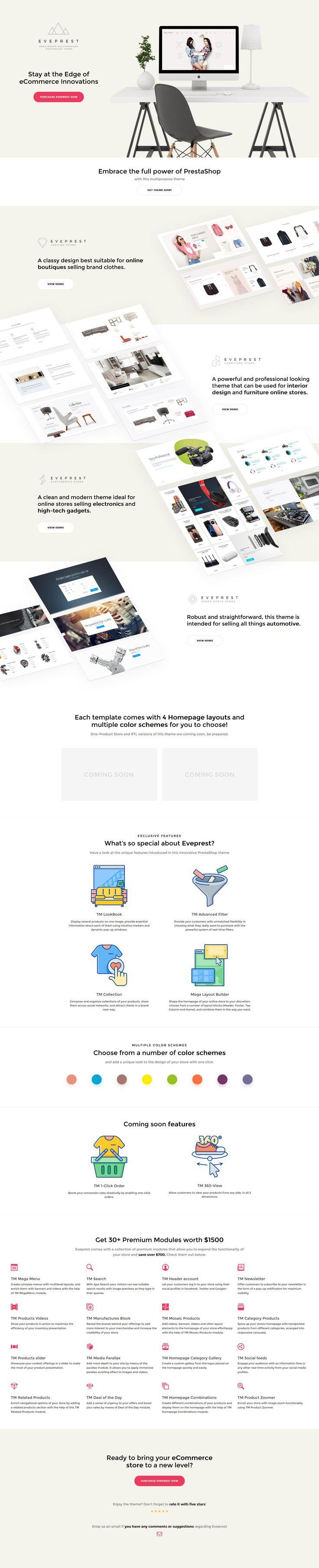 Eveprest - Multipurpose PrestaShop Theme - http://www.templatemonster.com/prestashop-themes/eveprest.html