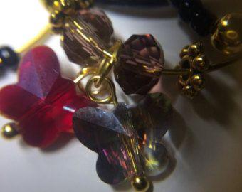 ENCANTOS de la COPA de VINO y WineKeepers juego por CopperNecklaces