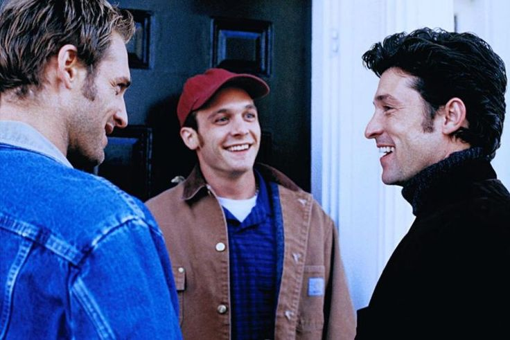 Patrick Dempsey (as Andrew Hennings), Ethan Embry (as Bobby Ray) and Josh Lucas (as Jake Perry) ~ Sweet Home Alabama (2002)