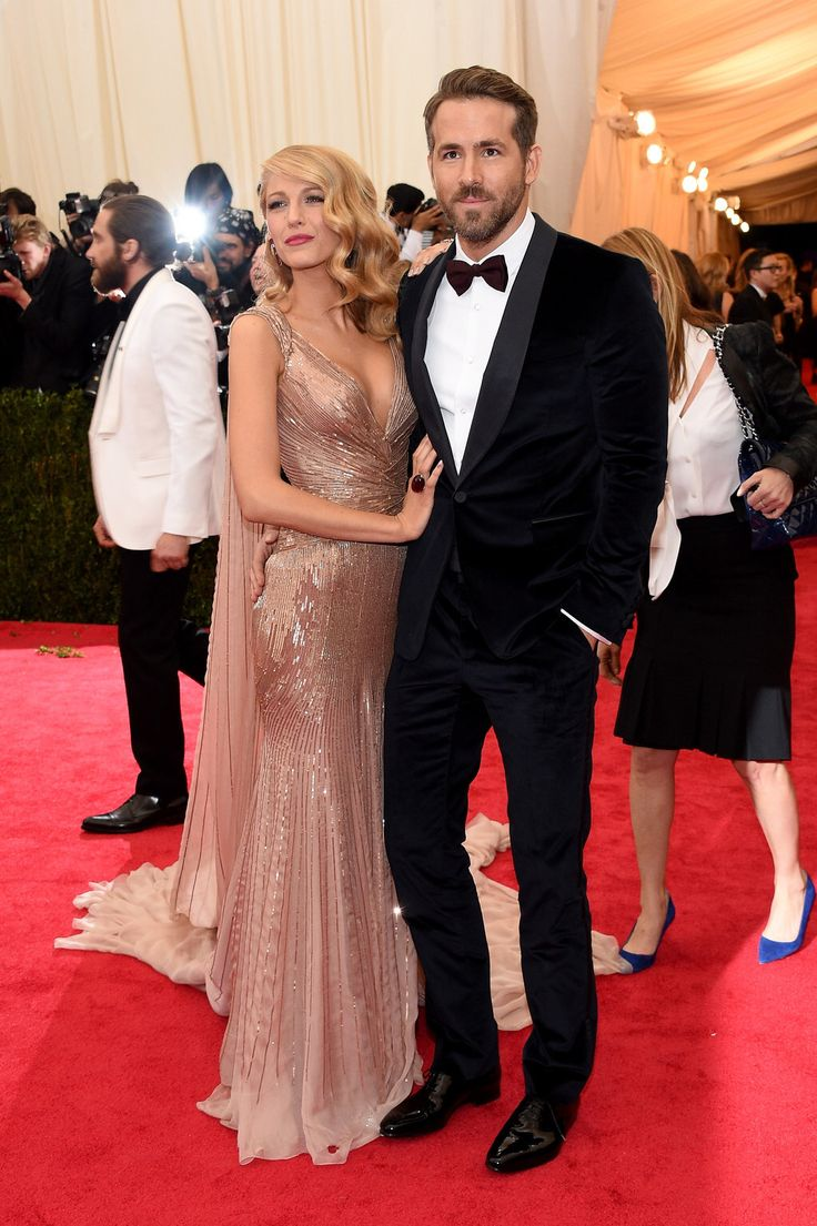 Blake Lively & Ryan Reynolds Celebrity dresses, Nice