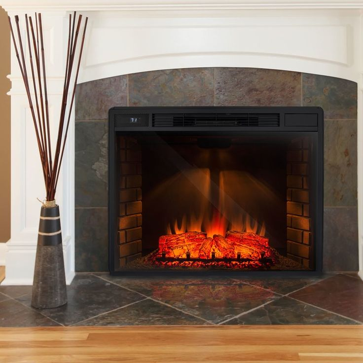 3d Logs Flame Electric Fireplace Insert Electric Fireplace
