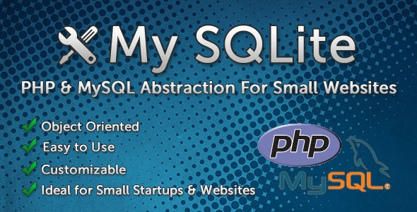 My SQLite - Simple PHP & MySQL Abstraction
