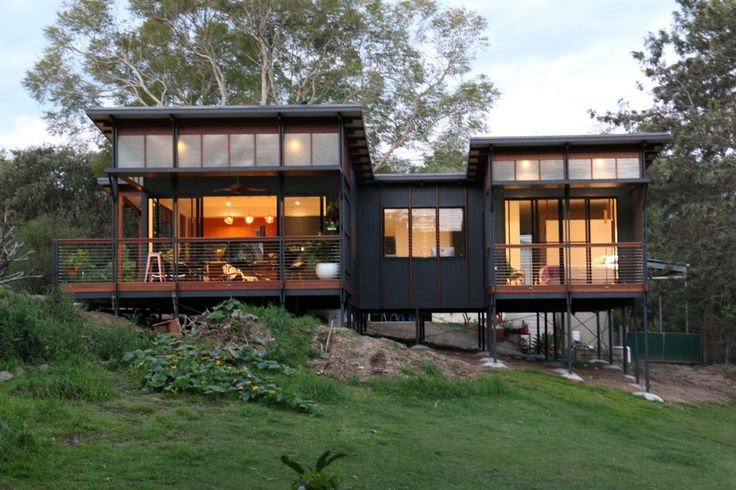 80sqm small house built at Samford Valley Brisbane. Design by Baahouse + Baastudio