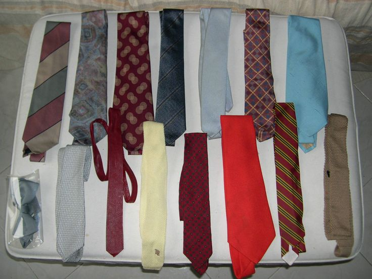 Stock 14 cravatte e 1 papillon usate | eBay