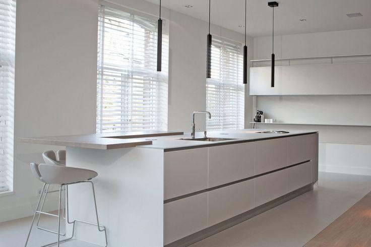 Appartement aan het Vondelpark - keuken | eetkamer