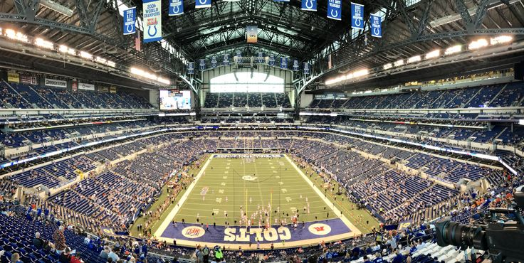 Lucas Oil Stadium...Colts vs. Browns 2017