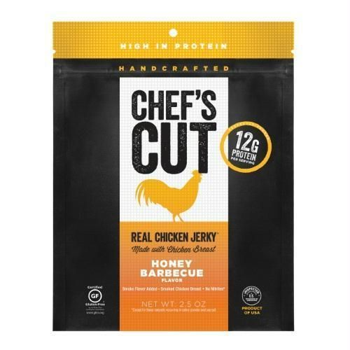 Chef's Cut Real Chicken Jerky Honey Barbeque (8x2.5 Oz) #chickenbbq