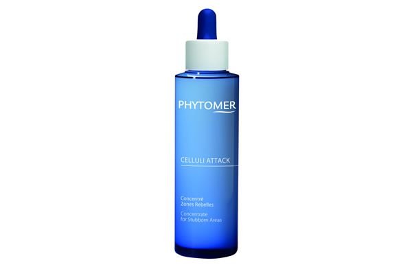 Containing a blend of Pink Pepper Oil, Sea Grape and Glycolic Acid, the Phytomer Celluli Attack Concentrate gets to work on stubborn cellulite and dimpled skin fast.