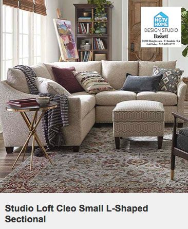 Shop At Hgtv Home Design Studio By Bassett Your Des Moines Furniture