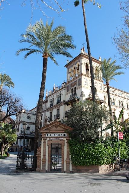 Hotel Alfonso XIII, Spain:  Sevilla