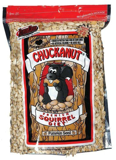 Chuckanut Products Premium Squirrel Diet Pumpkin Seed All Natural Protein 40lbs
