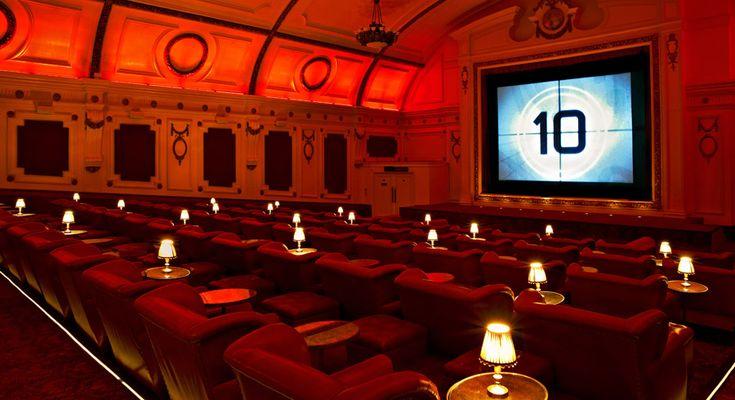 Visiting the cinema