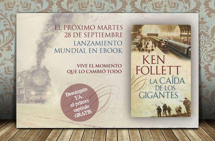 Diseño de banner ebook La caída de los Gigantes | Dolphin Tecnologías