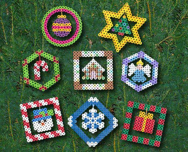 Perler Beads® Christmas Ornaments