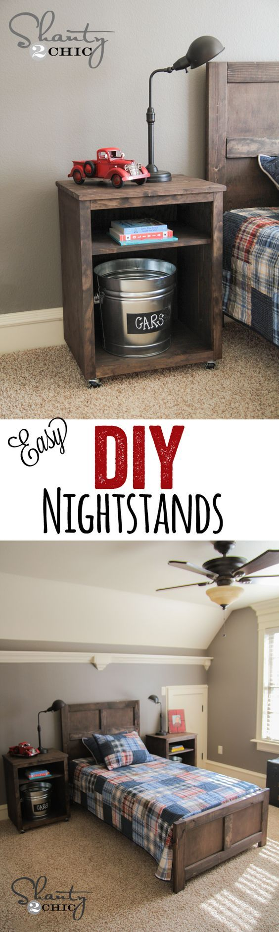 Best 25 night stands ideas on pinterest bedroom night for Diy night stand