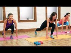 Cardio Pilates - 30 minutos é a combinação perfeita de pilates, cardio e exercícios de força com pesos.É um treino cardio pilates divertido e muito eficaz, principalmente se deseja queimar calorias, emagrecer, fortalecer, tonificar, alongar, esculpir e ter muita agilidade e flexibilidade.São 30 minutos de pura energia, assinados pela equipa FitSugar, prometendo resultados num curto espaço de tempo.