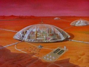 Domes similar to those found on Beta Tau.